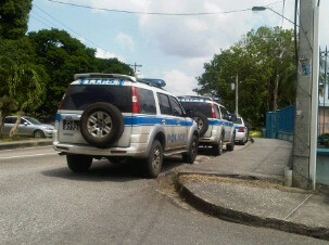 Police breaking the law in mon repos